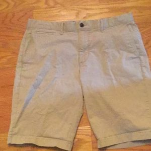 GAP, flat front shorts, 34x21